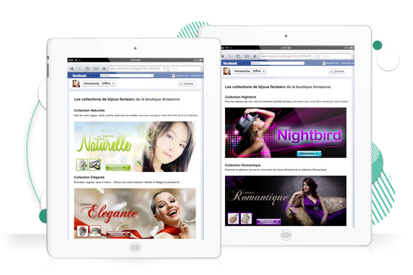 graphiste freelance creation de page facebook personalisee amazonia